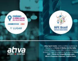 Prêmio da Ativa Sport Center
